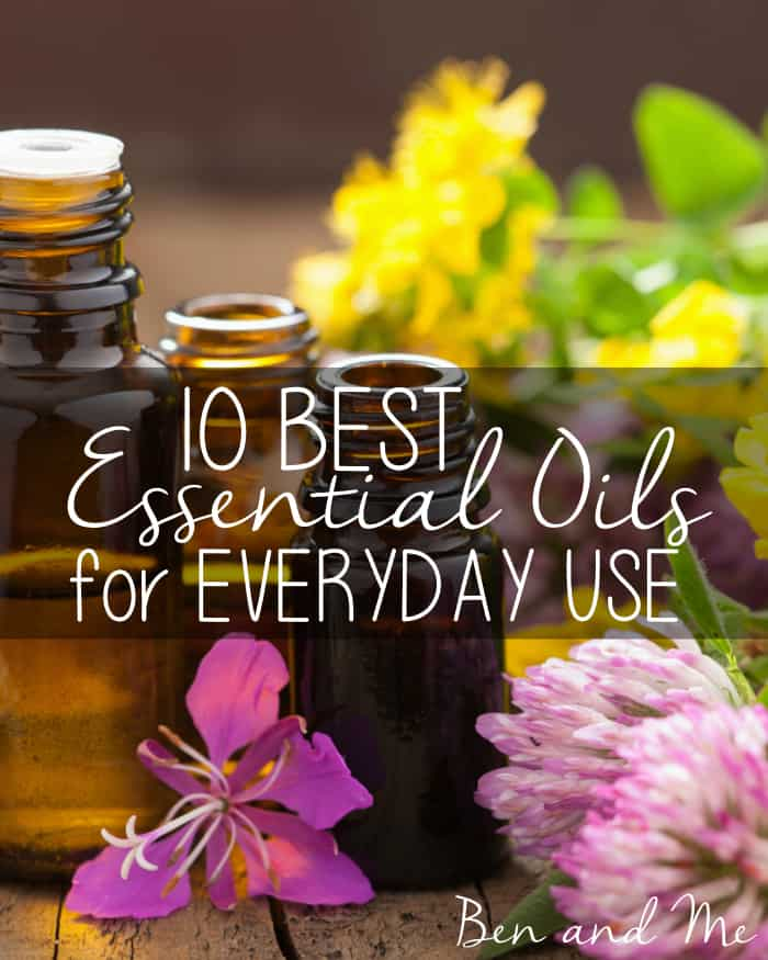 10 Best Essential Oils for Everyday Use -- In this series, I share the benefits of each of my favorite essential oils and how they can be used as a part of your day-to-day healthy living. I also include recipes for some of my favorite products made with these essential oils.