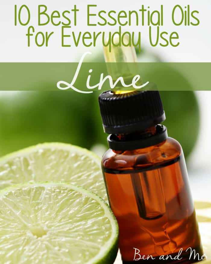 Best Essential Oils for Everyday Use -- Lime Essential Oil