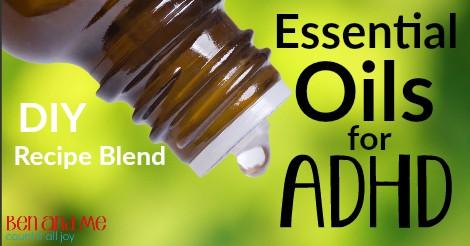 Essential Oils for ADHD facebook