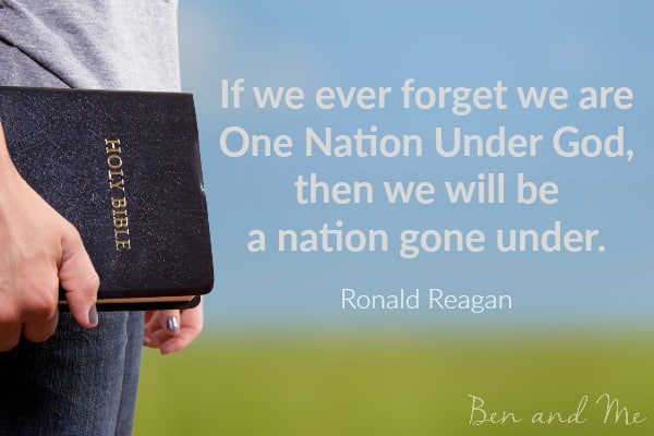 Ronald Reagan quote for creative freewriting