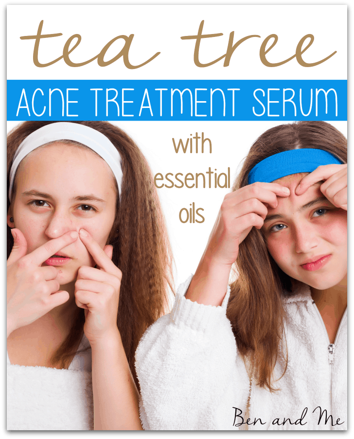 Tea Tree Essential Oil Acne Treatment Serum