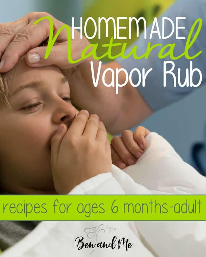 Homemade Natural Vapor Rub