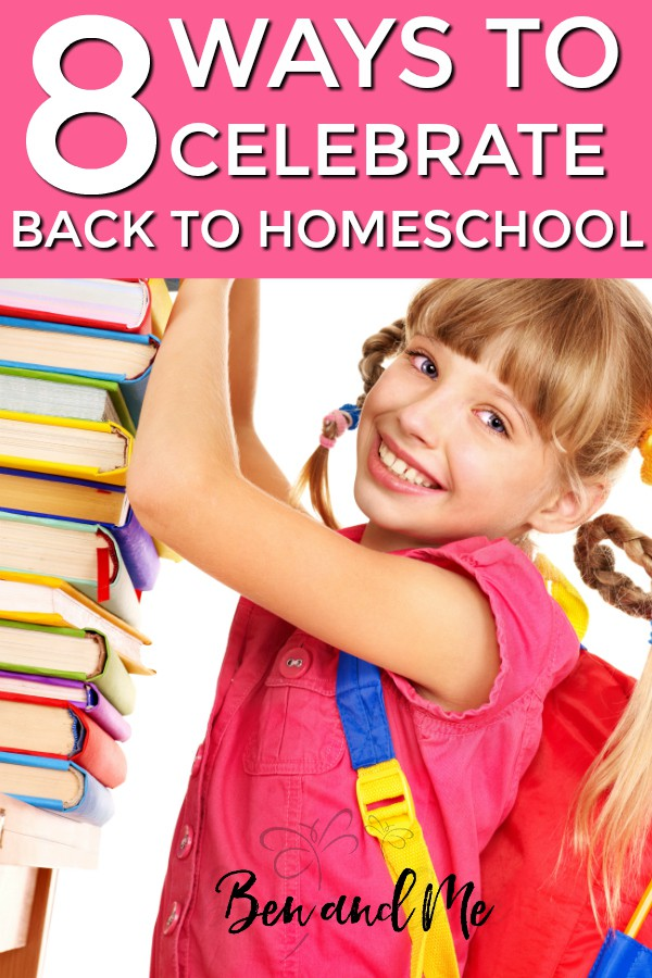 From the first day of preschool until now we have had a few traditions for the first day back to homeschool. If you're looking for a way to commemorate this precious time, maybe some of these will work for you, too. #backtohomeschool #starthomeschooling #whyhomeschool #homeschooling #hsmommas #homeed #homeeducation #backtoschool #firstdayofschool