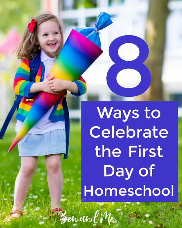 If you're looking for a way to commemorate the first day of homeschool, maybe some of these ideas will work for you.