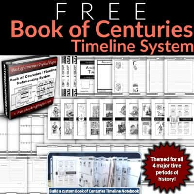 FREE! Book of Centuries/History Timeline System