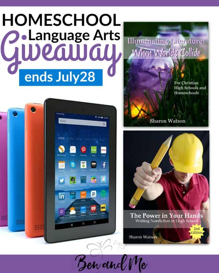 Homeschool Language Arts Giveaway