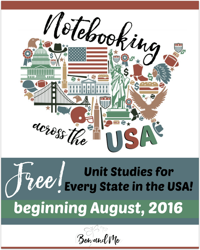 Notebooking Across the USA