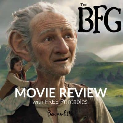 Disney Studios The BFG Movie Review and Free Printables