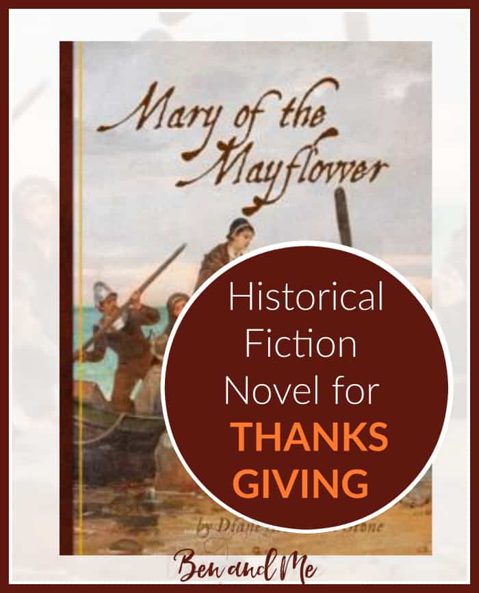 Mary of the Mayflower -- an historical fiction novel for Thanksgiving