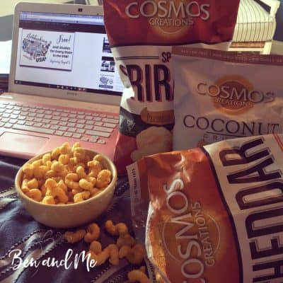 Healthy Snacking with Cosmos Creations Premium Puffed Corn