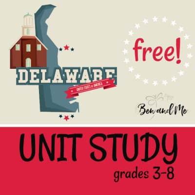 Free! Delaware Unit Study