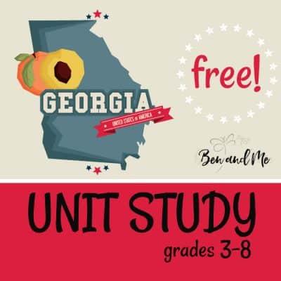 Georgia Unit Study