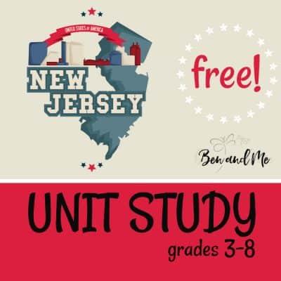 Free! New Jersey Unit Study