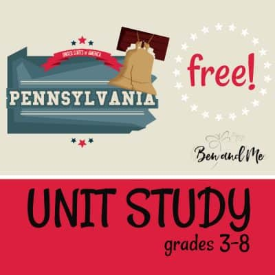 Free! Pennsylvania Unit Study