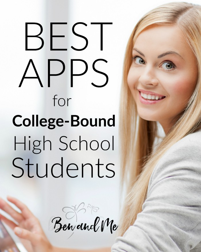 Best Apps for College-Bound High School Students -- If you have college-bound high school students, I believe your students will find the following apps helpful. Includes both study and organizational apps.