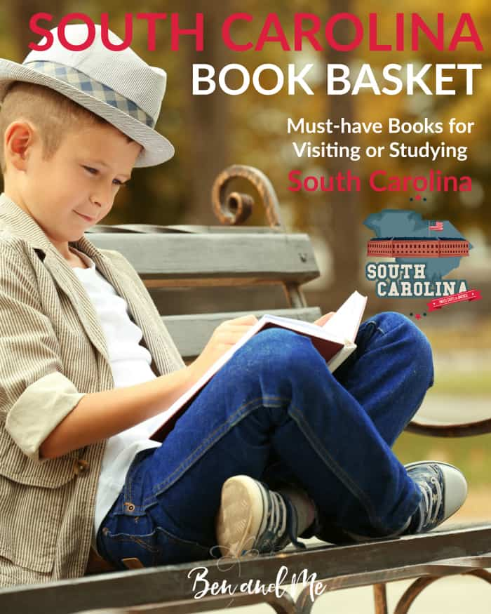 South Carolina Book Basket -- must-have books for visiting or studying South Carolina