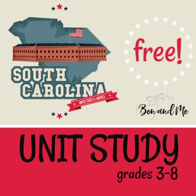 Free! South Carolina Unit Study