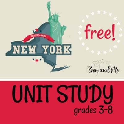 Free! New York Unit Study