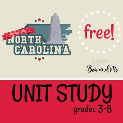 Free! North Carolina Unit Study