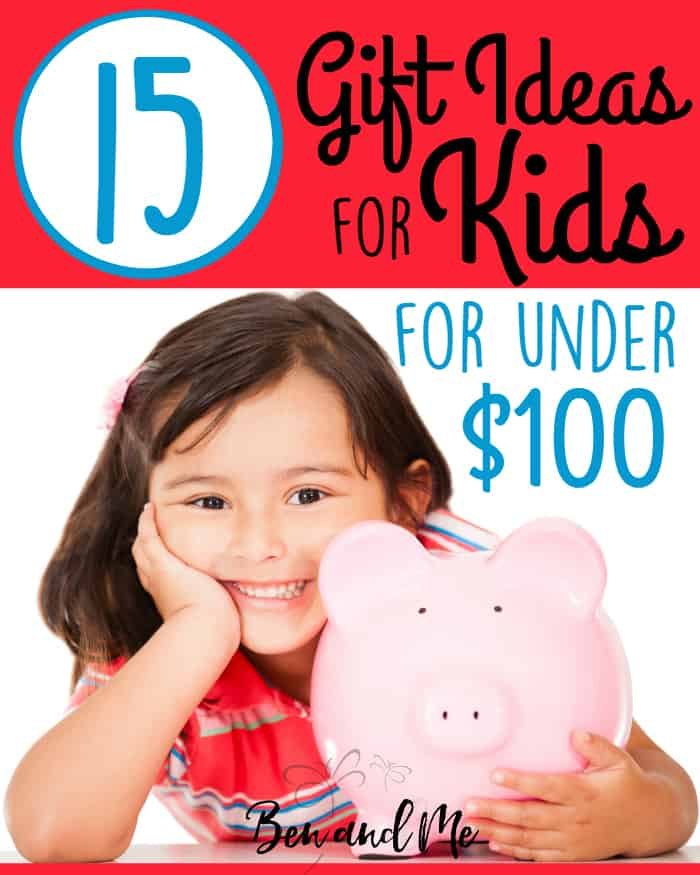If you need great ideas for gifts for kids on your Christmas list, I think you'll be happy with this list of ideas for kids for under $100.