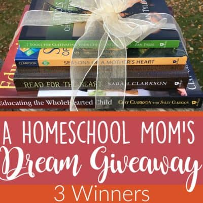 A Homeschool Mom's Dream Giveaway