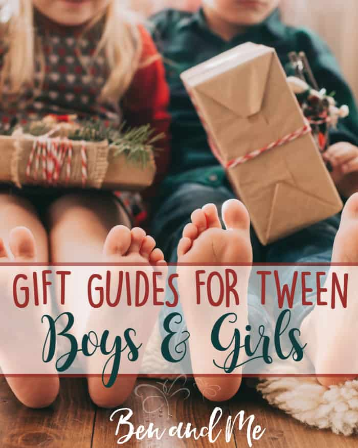 Use these Gift Guides for Tween Boys and Girls to inspire your gift-giving this holiday season!