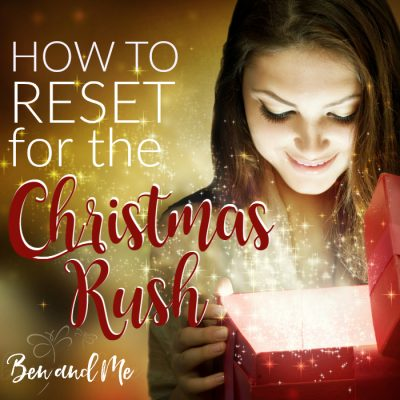 Reset for the Christmas Rush