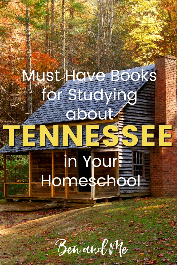 Tennessee Book Basket -- must read books for visiting or studying The A Volunteer State! Includes other ideas and resources for a Tennessee unit study! #homeschool #traveltheUSA #tennesseeunitstudy #unitstudies #homeschoolgeography