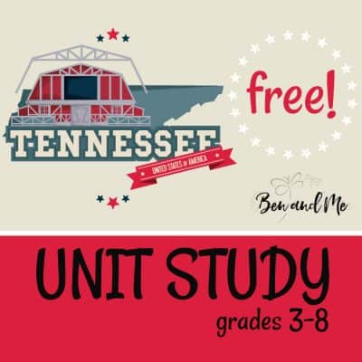 Tennessee Unit Study
