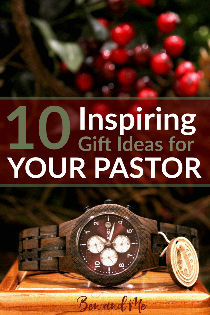 I Have A List Of Some Great Gift Ideas For Your Pastor No Bibles