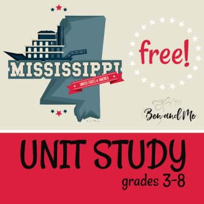 Mississippi Unit Study