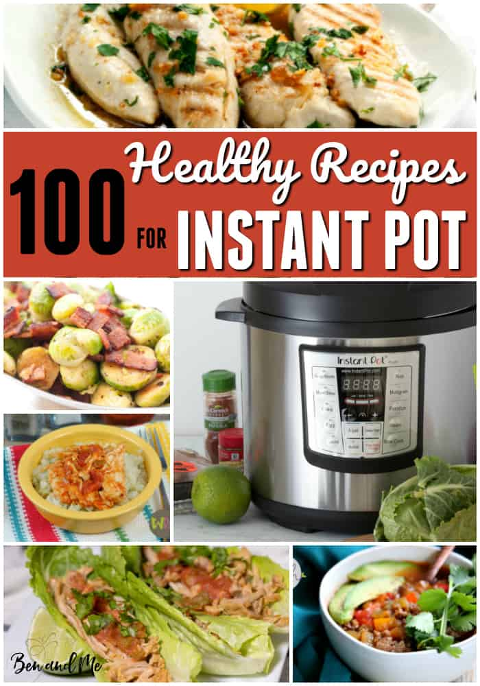 Eating a healthy diet has never been easier than when you make delicious, healthy recipes with the Instant Pot. These 100 healthy recipes for Instant Pot will get you started on the right track. #instantpot #instapot #whole30 #whole30recipes #instantpotrecipes #recipe #recipes #healthyrecipes #dinnerrecipes #souprecipes #chickenrecipes #beefrecipes #porkrecipes #sidedishes #maindishes #paleorecipes #paleo #paleoinstantpotreicpes