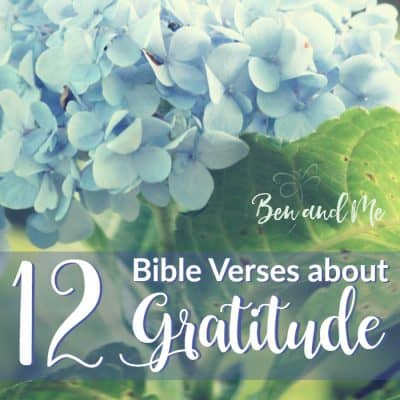 12 Bible Verses about Gratitude (and your Free Printable Grateful Journal 2017)