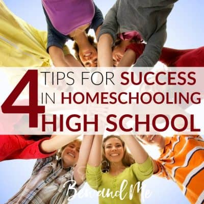 4 Tips for Success in Homeschooling High School