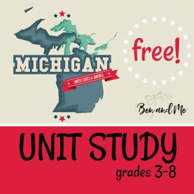 Free! Michigan Unit Study