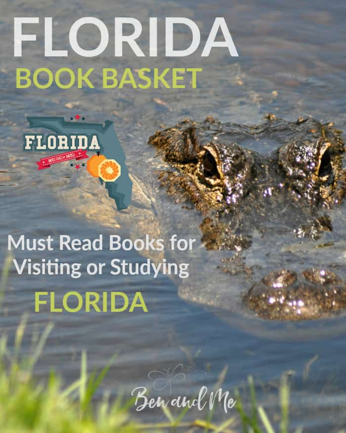 Florida Book Basket -- must read books for visiting or studying Florida