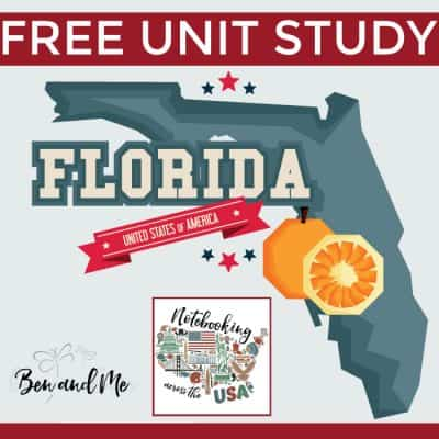 Notebooking Across the USA: Florida Unit Study