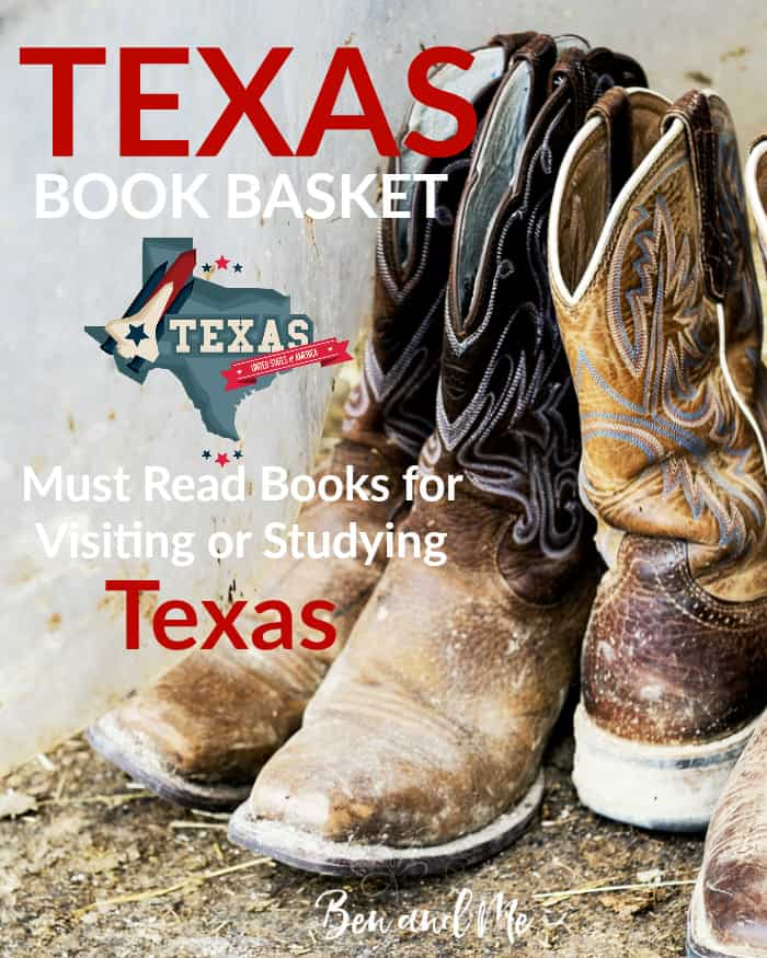 Texas Book Basket -- must read books for visiting or studying Florida