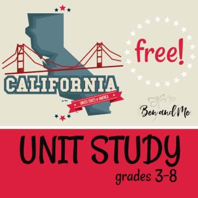 California Unit Study