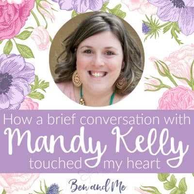 How a Brief Conversation with Mandy Kelly Touched My Heart