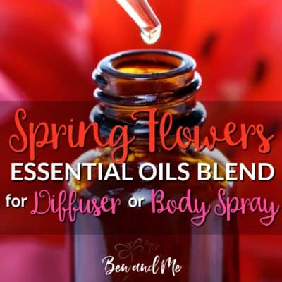 Spring Flowers Essential Oil Blend for Diffuser or Body Spray
