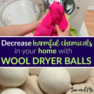 Decrease Harmful Chemicals in Your Home with Wool Dryer Balls