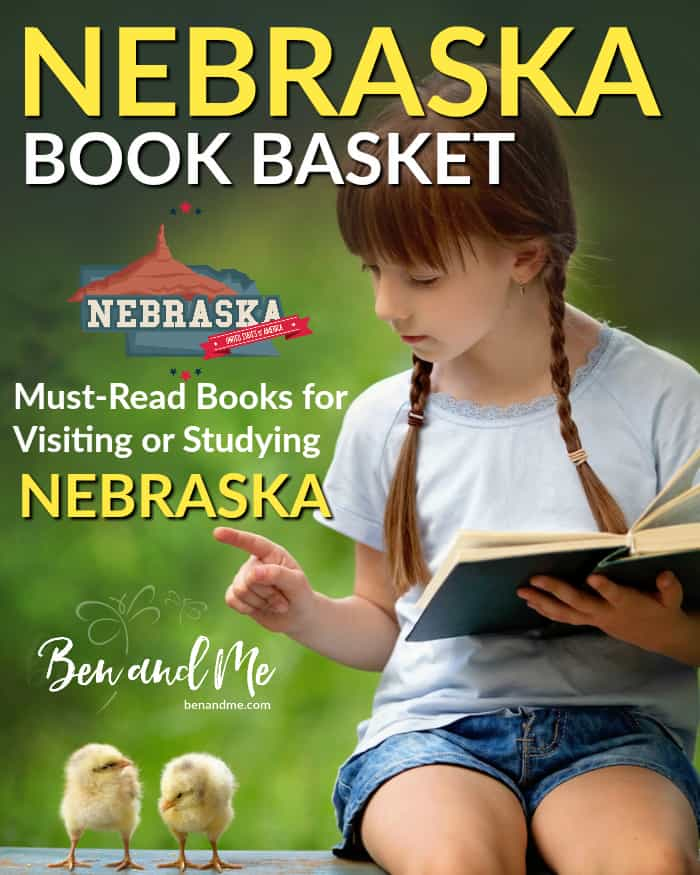 Nebraska Book Basket -- must read books for visiting or studying The Cornhusker State!