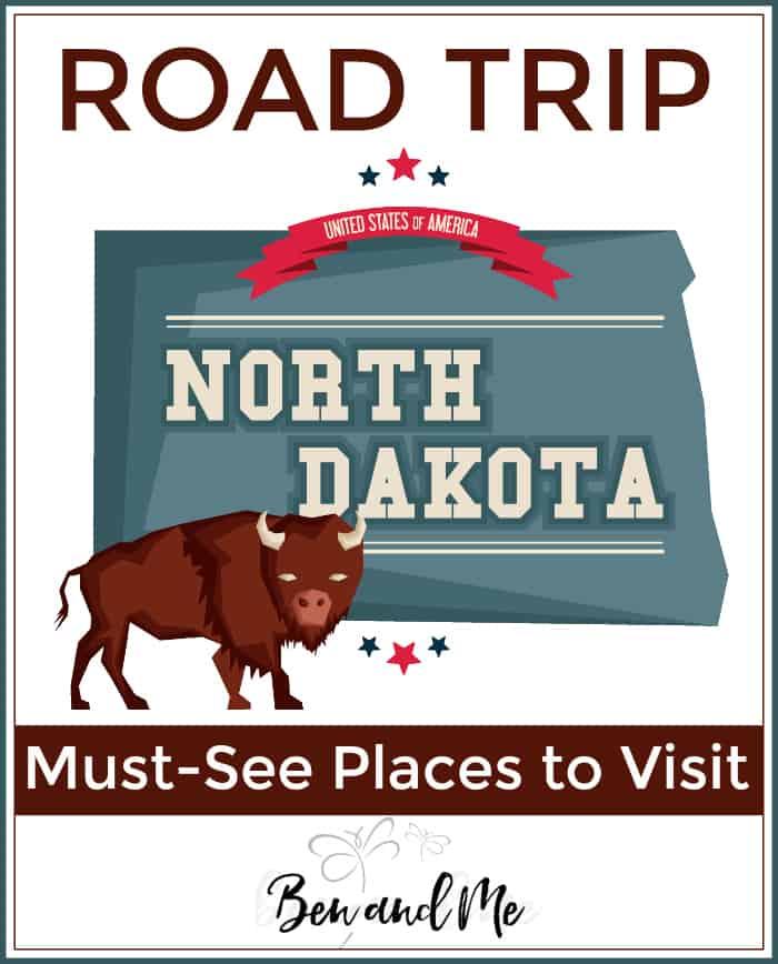 Road Trip North Dakota -- must -see places to visit