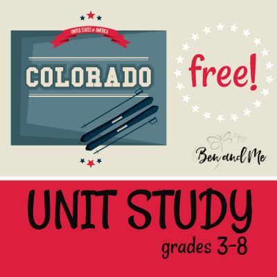 Free! Colorado Unit Study