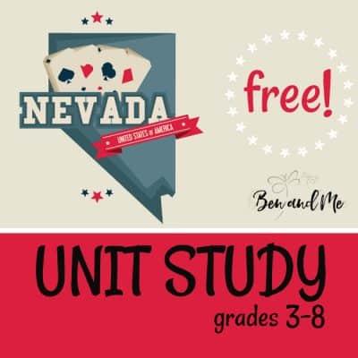Free! Nevada Unit Study