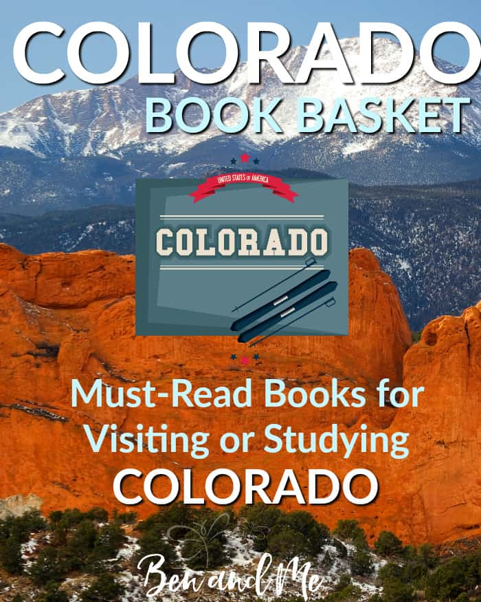 Colorado Book Basket -- must-read books for visiting or studying Colorado!