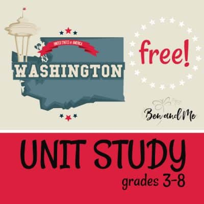 Free! Washington Unit Study