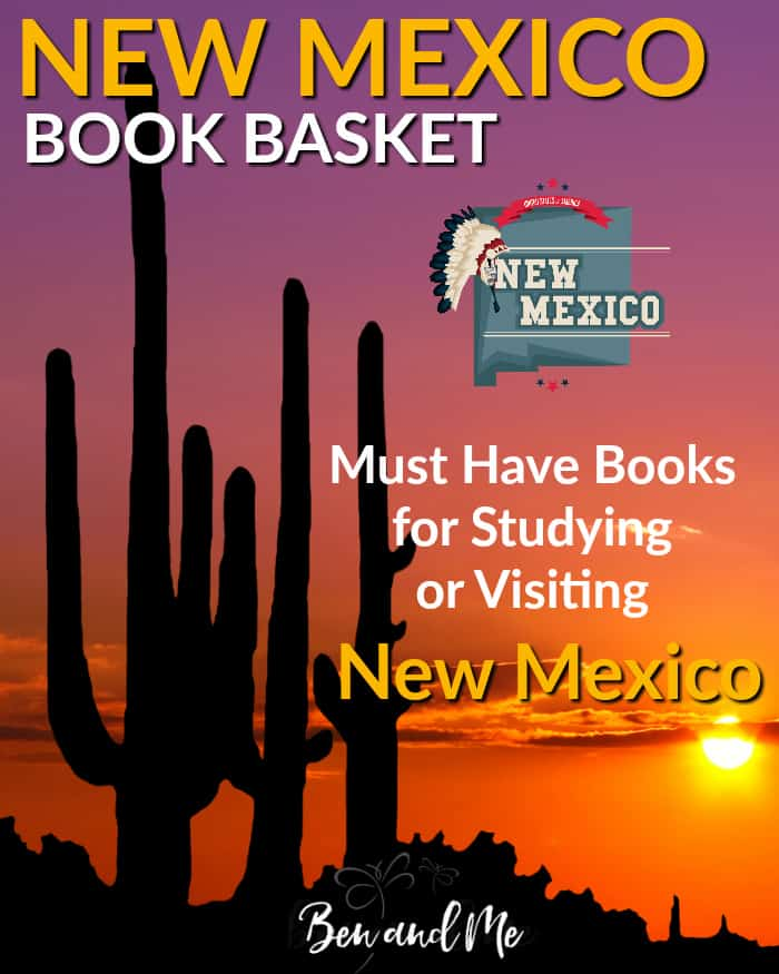 New Mexico Book Basket -- must read books for visiting or studying The Land of Enchantment!