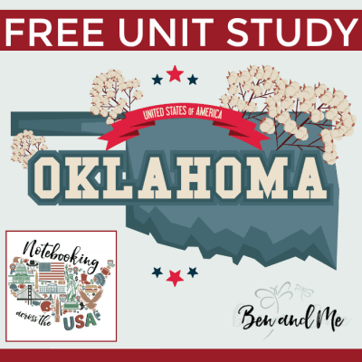 Notebooking Across the USA — Oklahoma Unit Study